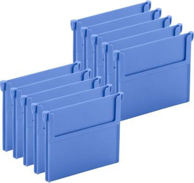 Trennwand für Regalkasten RK 521/421, blau, 10 Stück