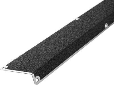 Treppenkantenprofil, 30 x 110 x 660 mm, schwarz, extra stark