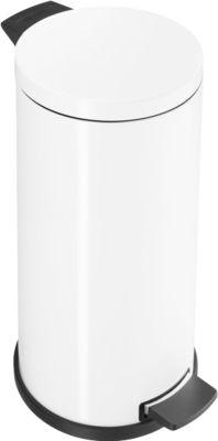 Tretabfalleimer Profi Line Solid 20 Liter, mit verzinkten Inneneimer, weiß