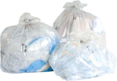 TRILine® ecologische vuilniszakken met een grote inhoud, 2500 liter, 1250 + 850 x 2600 mm, 25 stuks