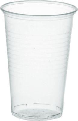 Trinkbecher transparent, 0,2 Liter, 100 Stück