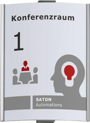 Türschild Frankfurt, 297 x 230 mm