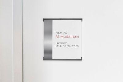 Türschild Simplex, 148 x 158 mm