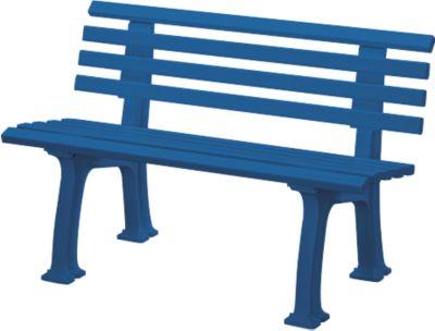 Tuinbank  2-zits l 1200 mm blauw