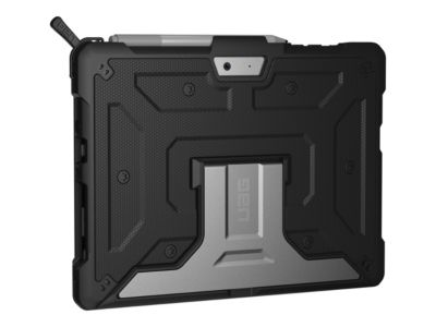 UAG Rugged Case for Microsoft Surface Go - Metropolis Black - hintere Abdeckung für Tablet