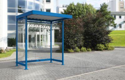 Überdachungssystem Modell Köln K a/a, Bausatz, enzianblau