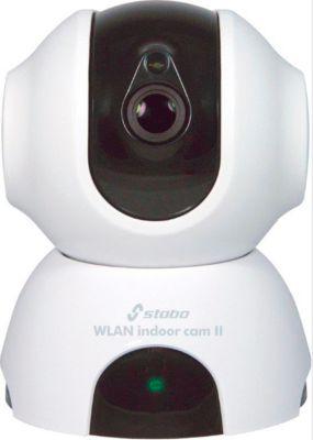 Überwachungskamera Stabo WLAN indoor cam II, 2,4 GHz, 720 p (1280×720), kabellos per