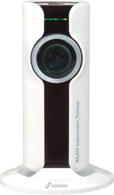 Überwachungskamera Stabo  WLAN indoor Fisheye 180° für innen, 180° Schwenkfunktion