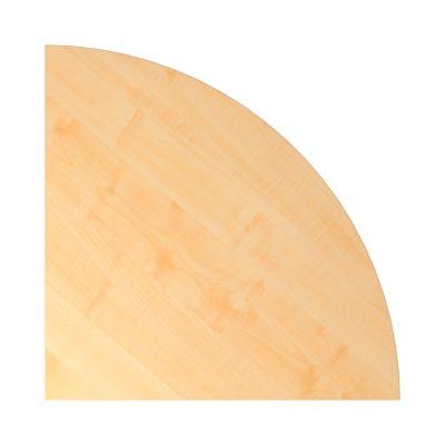 ULM hoekblad, afgerond, b 800 x d 800 mm, ahorndecor