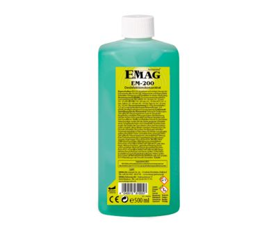 Ultraschallreiniger Konzentrat EMAG EM-200 für die Desinfektion, VAH-gelistet, 500 ml
