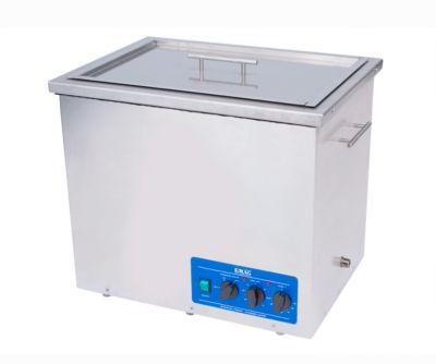 Ultrasone reiniger EMAG Emmi® 420 HC, roestvrij staal, 42 l, met timer, afvoer & verwarming.