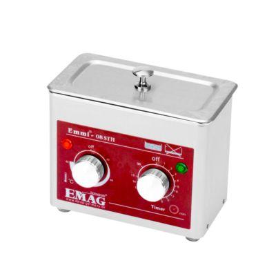 Ultrasone reiniger EMAG Emmi® ST H, roestvrij staal 0,8 l, met timer & verwarming.