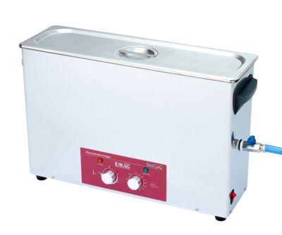Ultrasoonreiniger EMAG Emmi® H 120, roestvrij staal, 9 l, met timer, afvoer & verwarming.