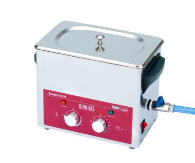 Ultrasoonreiniger EMAG Emmi® H 30, roestvrij staal, 2,60 l, met timer, afvoer & verwarming.