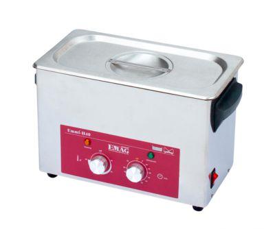 Ultrasoonreiniger EMAG Emmi® H 40, roestvrij staal, 3,55 l, met timer, afvoer & verwarming.