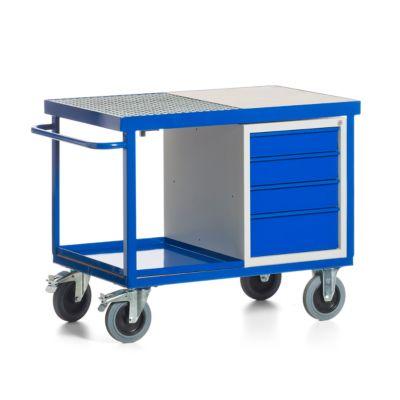 Umwelt-Montagewagen mit Schubladenschrank, fahrbar