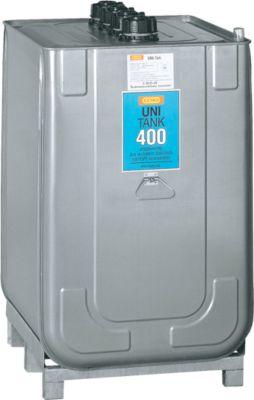UNI-smeermiddeltank van HDPE voor olie, 400 liter