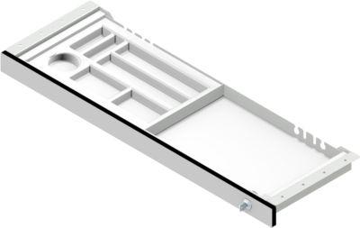Unterbau-Schublade für elektr. höhenverstellbaren Schreibtisch TOPAS Line, 1 Schub, B 825 mm
