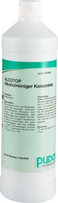 Unterhaltsreiniger Alcotop, 6x 1L-Flaschen