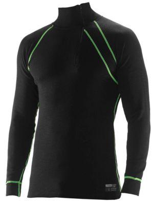 Unterhemd Polo schwarz XS