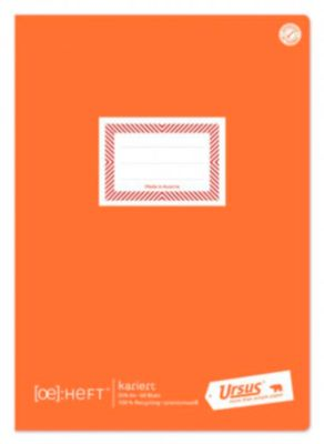 Ursus® Ö-Heft, A4, 60 Blatt, kariert