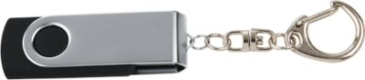 USB-Stick Rotation, mit Schlüsselkette, 4 GB