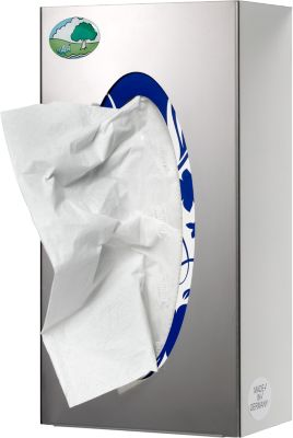 VAR wandrek, voor dozen met handschoenen/handdoeken, uitvoering 1-vaks