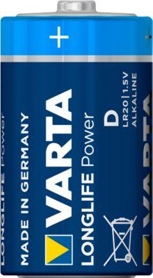 VARTA High Energy batterijen, mono 1,5V, 2 stuks