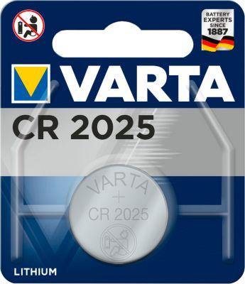 VARTA knoopcelbatterij PROFESSIONAL ELECTRONICS CR 2025 3V, per stuk