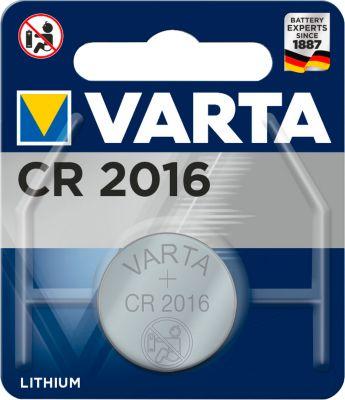 VARTA knoopcelbatterij PROFESSIONAL ELECTRONICS, type CR 2016, 3 V, stuk
