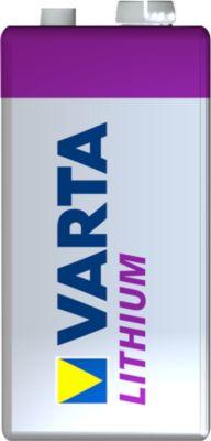 Varta Professioal Lithium  9 V, 1 stuk