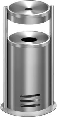 Veiligheidsasbak/afvalbak Tec-art E