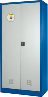Veiligheidskast, b 950 x d 500 x h 1950 mm, 4 legborden