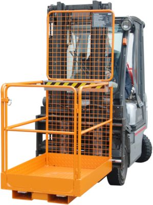 Veiligheidskooi SIKO/L, (lxbxh) 1290 x 800 x 1890 mm, oranje