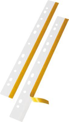 VELOFLEX Heftfix, PVC, 292 mm, 50 Stück, glasklar