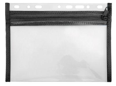Veloflex Reißverschlusstasche Velobag XXS, Format DIN A5, schwarz