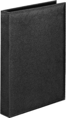 VELOFLEX Ringbuch Exquisit, 4-D-Ringmechanik, A4, Füllhöhe 25 mm, schwarz
