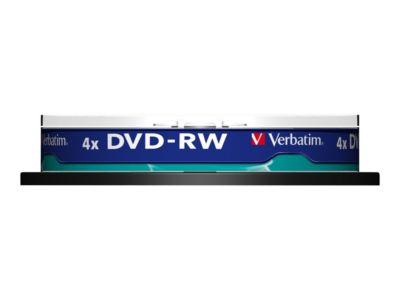 Verbatim DataLifePlus - DVD-RW x 10 - 4.7 GB - Speichermedium
