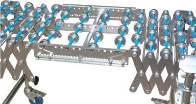 Verbindingsstuk voor schaarrollentransporteur, spoorbreedte 400 mm