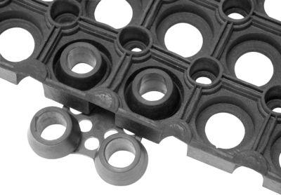 Verbindungs-Clips für Gummi-Ringmatten, 10 Stück