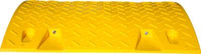 Verkeersdrempel, middenstuk (<10 km/h), geel