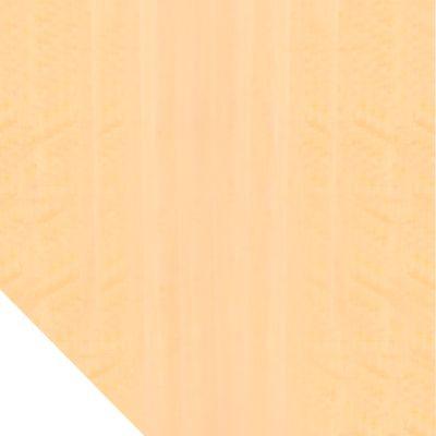 Verkettungsplatte TARA, Trapez, B 1200 x T 1200 mm, Ahorn-Dekor
