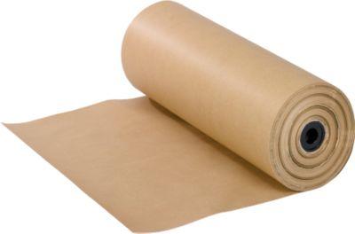 Verpakkingspapier, bijzonder scheurvast en flexibel, bruin, rolbreedte 50 cm