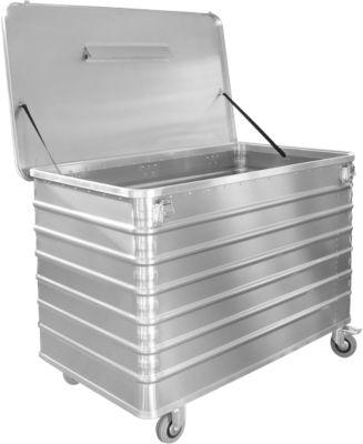 Verrijdbare alu data-afvalbak D 3009, 415 liter