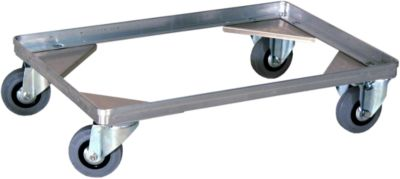 Verrijdbare onderstellen voor transportbakken, 150 mm hoog