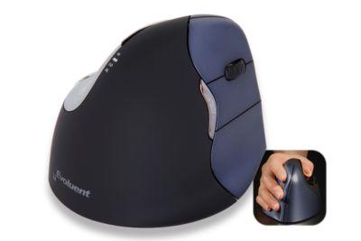 Verticale muis Evoluent4 Wireless, voor rechtshandigen