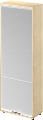 Vertikal-Rollladenschrank TETRIS WOOD, 5,5 OH, H 2270 mm, Höhe inkl. Gleiter, Ahorn-Dekor