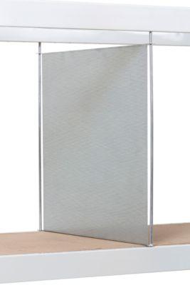 Vertikaler Stahlblechtrenner, H 400 x T 600 mm