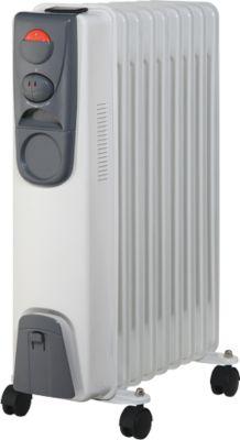 Verwarmingstoestel thermo-olie-radiator, 9 ribben, vermogen 2000 watt