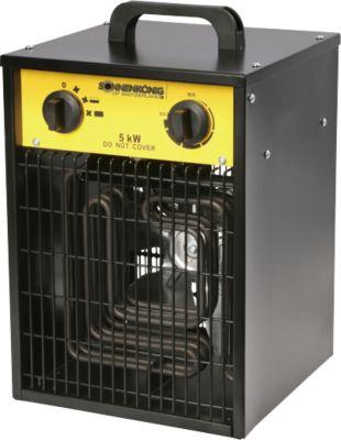 Verwarmingstoestel Ventus 500, voor ruimtes van 40 tot 180 m3, spanning, 2 verwarmingsstanden, 1 blaasstand